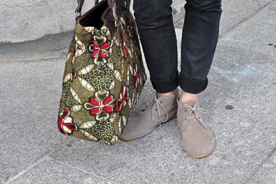 Yasmine Schuhe Tasche