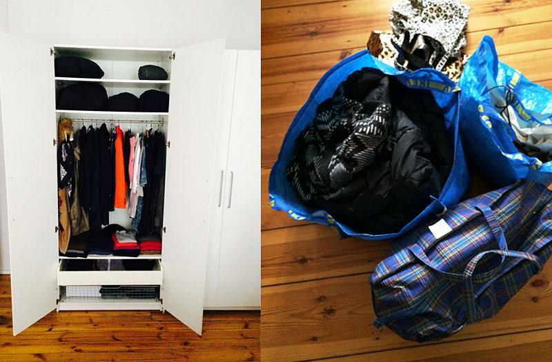 mal so richtig ausmisten. Black Bedroom Furniture Sets. Home Design Ideas