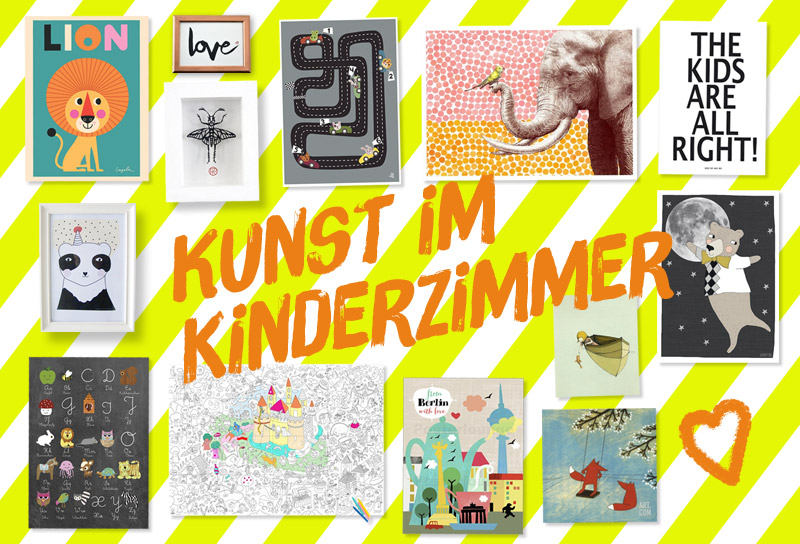 kunst im kinderzimmer. Black Bedroom Furniture Sets. Home Design Ideas