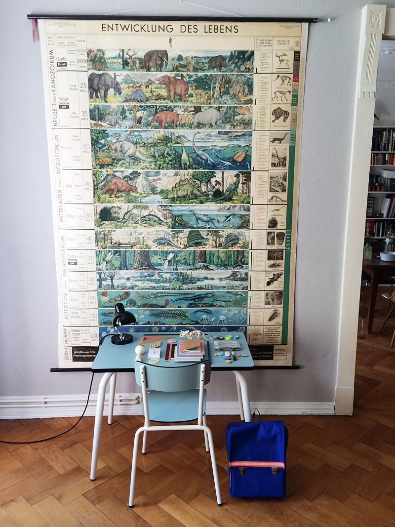 ein schreibtisch f r das schulkind. Black Bedroom Furniture Sets. Home Design Ideas