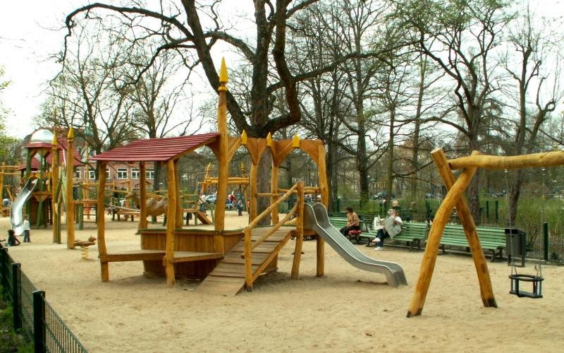 Spielplatz Berlin Hasenheide