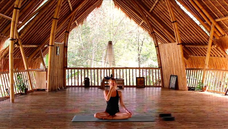 Yoga Übung Nadi Shodana