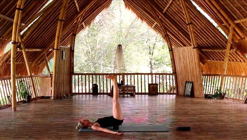 Yoga Übung Vikariat Karani