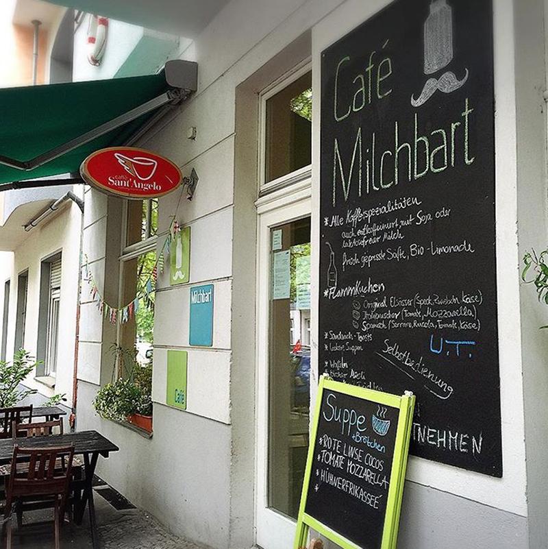 Kindercafés Milchbart