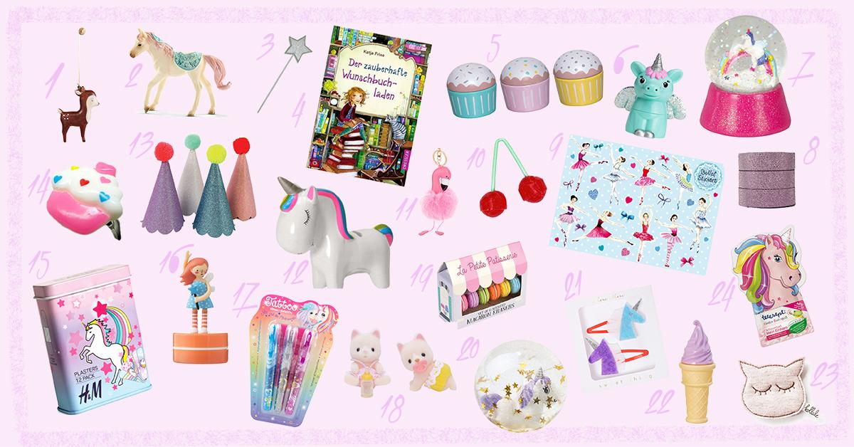 Mädchen Weihnachtskalender.24 Kleine Ideen Für Den Mädchen Adventskalender