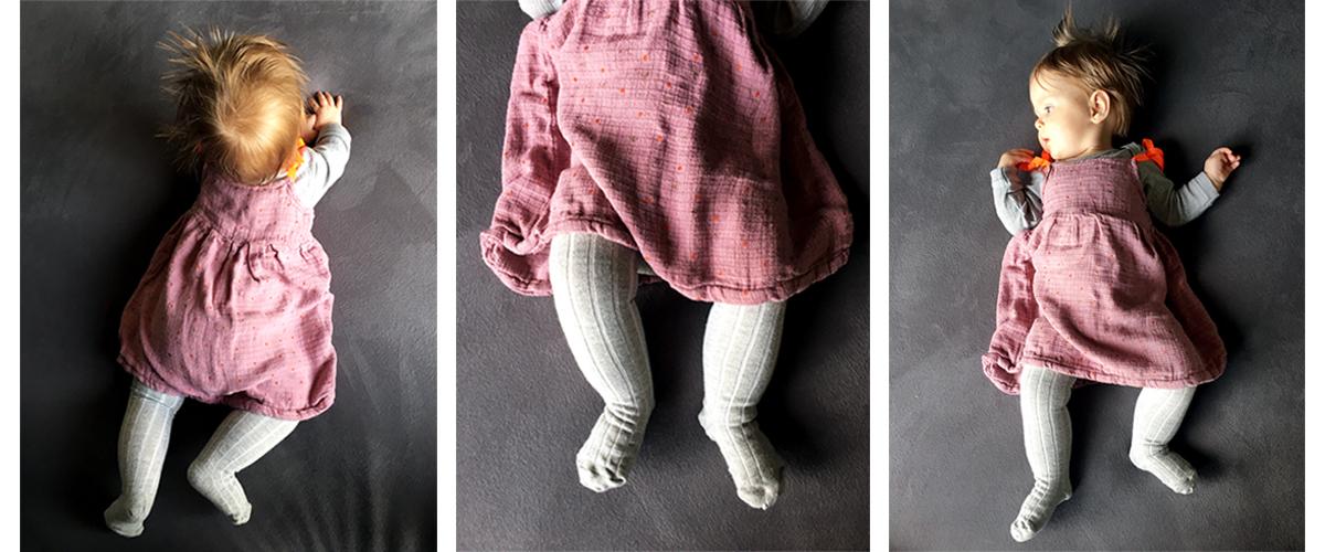 Diy Babykleid Mit Baby Furs Baby Nahen