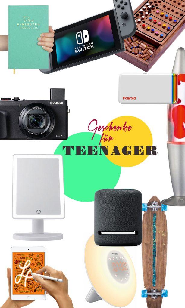 Geschenke für Teenager